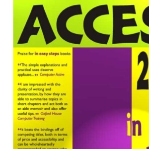 Access 2000 In Easy Steps (In Easy Steps Series)