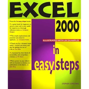 Excel 2000 in Easy Steps
