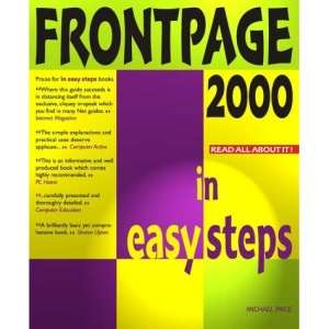 Frontpage 2000 In Easy Steps (In Easy Steps Series)