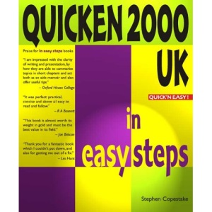 Quicken 2000 UK In Easy Steps (In Easy Steps Series)