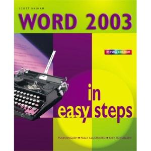 Word 2003 in Easy Steps