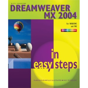 Dreamweaver MX 2004 in Easy Steps
