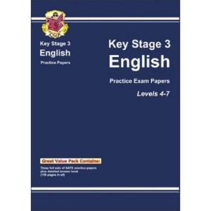 KS3 English SATS: Practice Papers (Levels 4-7) (Bookshop) Pt. 1 & 2