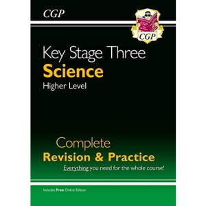 KS3 Science Complete Study & Practice - Higher (with Online Edition): perfect for catch-up and learning at home (CGP KS3 Science)