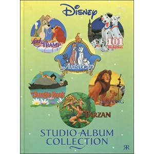 Disney Studio Album Collection: Lady and the Tramp, 101 Dalmatians and Aristocats (Disney Studio Albums Collection S.)