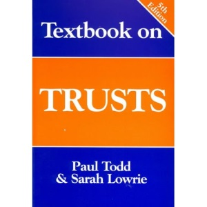 Textbook on Trusts