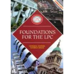Foundations for the LPC (Legal Practice Course Guides)