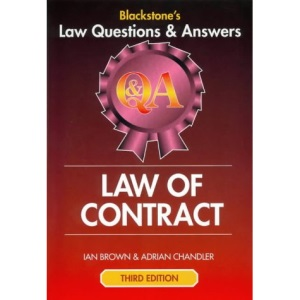 Law of Contract (Law Questions & Answers)