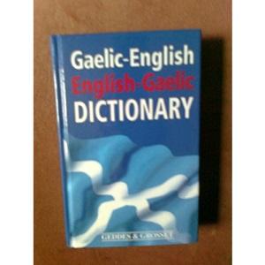 Gaelic-English English-Gaelic Dictionary