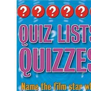 Quiz Lists Quizzes: Three of a Kind (Categorical quizzes)