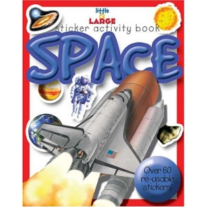 Space (Little and Large Sticker Activity Books)