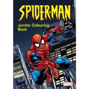 Spider-Man Jumbo Colouring Book