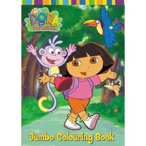 Dora the Explorer Jumbo Colouring Book