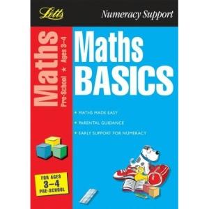 Maths Basics 3-4: Ages 3-4 (Maths & English basics)