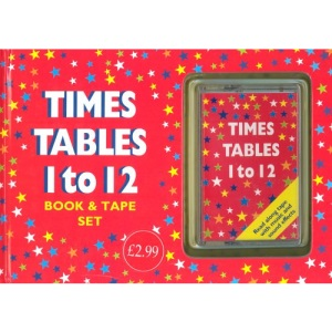 Times Table 1-12 Book & Tape Set