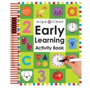 Wipe Clean Early Learning Activity Book UK EDITION (Wipe Clean Early Learning Activity)