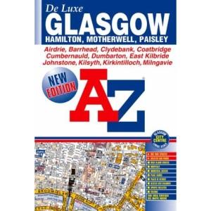 A-Z Glasgow De Luxe Street Atlas