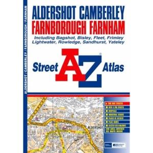 A-Z Aldershot Street Atlas (Street Maps & Atlases)