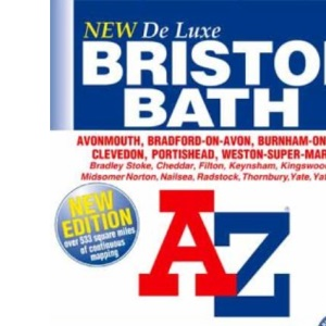 A-Z Bristol and Bath Deluxe Street Atlas (Street Maps & Atlases)