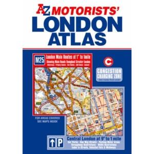 Motorists London Atlas (Road Atlas)