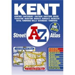 A-Z Kent Street Atlas (Street Maps & Atlases)