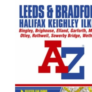 Leeds and Bradford Street Atlas (Street Maps & Atlases)