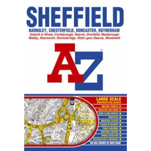 Sheffield Street Atlas (paperback)