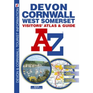 Devon, Cornwall and West Somerset Visitors' Atlas (A-Z Visitors Atlas)