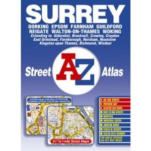 Surrey Street Atlas (Street Atlas Flexibound)