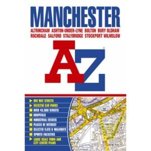 Manchester Street Atlas (A-Z Street Atlas)