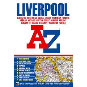 Liverpool Street Atlas (Road Map)