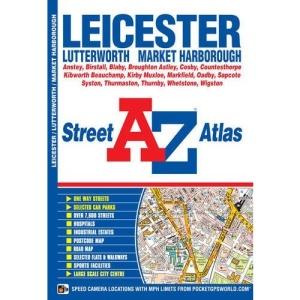 Leicester Street Atlas (A-Z Street Atlas)