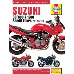 Suzuki GSF600 and 1200 Bandit Fours Service and Repair Manual: 1995 to 2004 (Haynes Service and Repair Manuals)