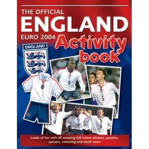 England Euro 2004 Activity Book