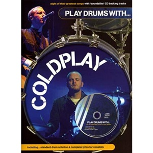 Play Drums With... Coldplay Book/Cd