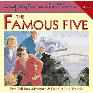 Five Fall into Adventure: WITH Five Get into Trouble (Famous Five)