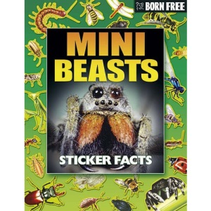 Mini Beasts (Born Free Sticker Books)