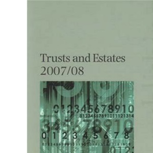 Trusts and Estates: Core Tax Annual