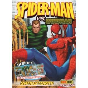 Spider-man Vs. Sandman: Sand Storm! (Spiderman)