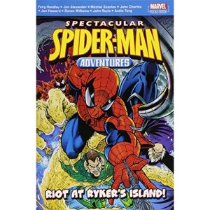 Spectacular Spiderman Adventures: Riot at Rykers Island (Spectacular Spiderman)