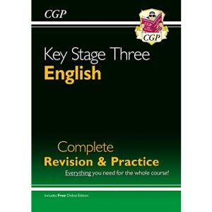 KS3 English Complete Revision & Practice (with Online Edition): perfect for catching up at home (CGP KS3 English)