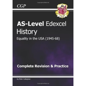 AS Level History - Equality in USA Unit 1 D5 Complete Revision & Practice for exams until 2015 only