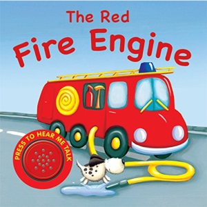 Sound Book: The Red Fire Engine (Vehicle Sounds)