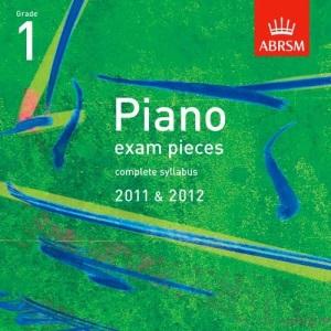 Piano Exam Pieces 2011 & 2012 CD, Grade 1 (ABRSM Exam Pieces)