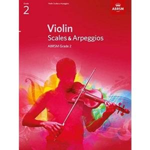 Violin Scales & Arpeggios, ABRSM Grade 2: from 2012 (ABRSM Scales & Arpeggios)
