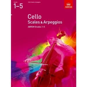 Cello Scales & Arpeggios, ABRSM Grades 1-5: from 2012