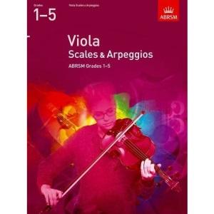 Viola Scales & Arpeggios, ABRSM Grades 1-5: from 2012 (ABRSM Scales & Arpeggios)