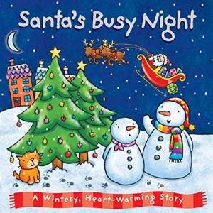 Baby Christmas Board Book - Santa's Busy Night (Board Book Deluxe 2)