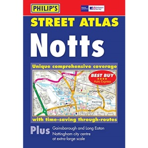 Philip's Street Atlas Nottinghamshire: Pocket