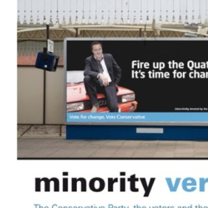 Minority Verdict: The Conservative Party, the voters and the 2010 election
